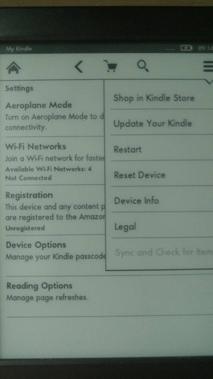 kindle firmware update 5.6.5